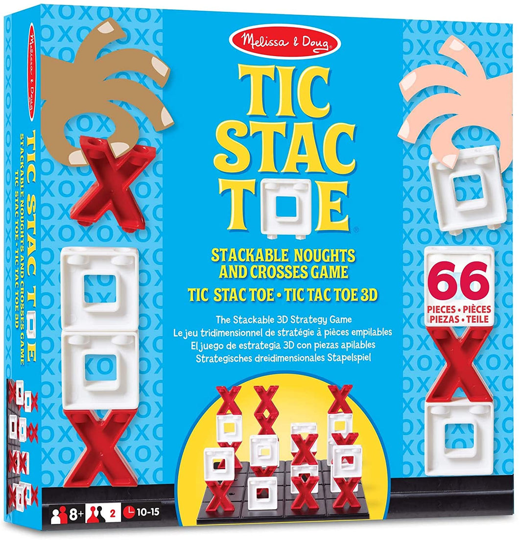 Melissa and Doug Tic Stac Toe game The Bubble Room Toy Store Skerries Dublin