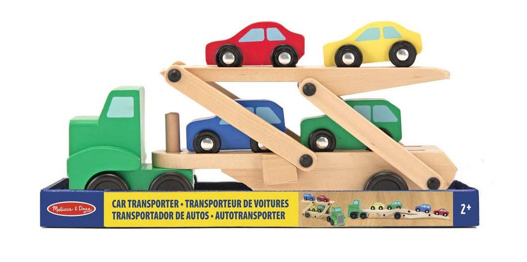 Melissa & Doug Car Transporter and Cars The Bubble Room Toy Store Dublin