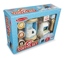 Load image into Gallery viewer, Melissa & Doug Wooden Brew & Serve Coffee Set the Bubble Room Toy Store Dublin