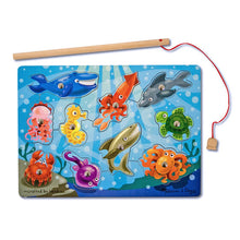 Load image into Gallery viewer, Melissa & Doug Fishing Magnetic Puzzle Game The Bubble room Toy shop Dublin