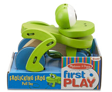 Load image into Gallery viewer, Melissa & Doug Pull Along Frog The Bubble Room Dublin
