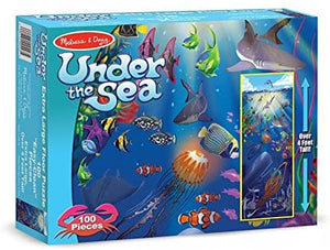 Melissa & Doug Under the sea floor puzzle The Bubble Room Toy Store Dublin