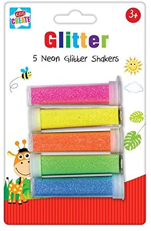 Neon Glitter shakers The Bubble Room Art and Craft Store Dublin