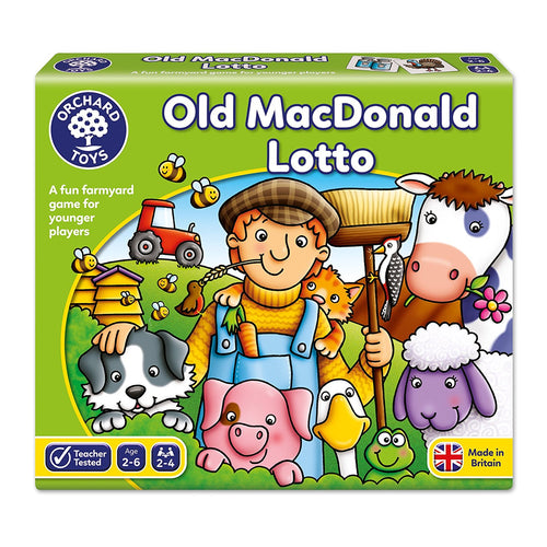 Orchard Toys Old McDonald Lotto The Bubble Room Toy Store Dublin