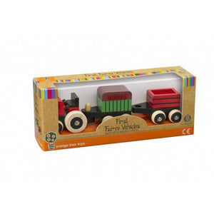 Orange Tree Toys First Farm Vehicles The Bubble Room Toy Store Dublin