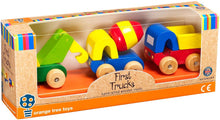 Load image into Gallery viewer, Orange Tree Toys  First Trucks The Bubble Room Toy Store Dublin