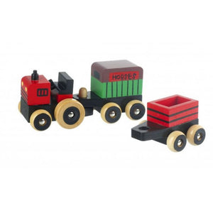 Wooden Farm Vehicles The Bubble room toy store