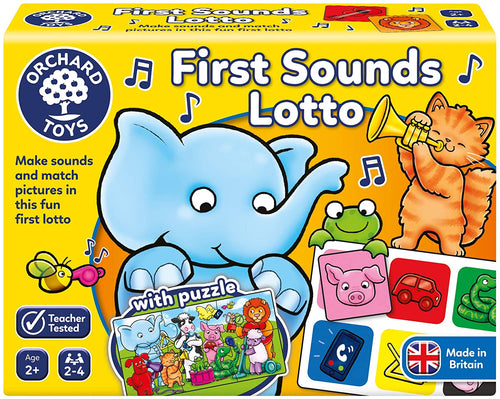 Orchard Toys First Sounds Lotto The Bubble Room Toy Store Dublin