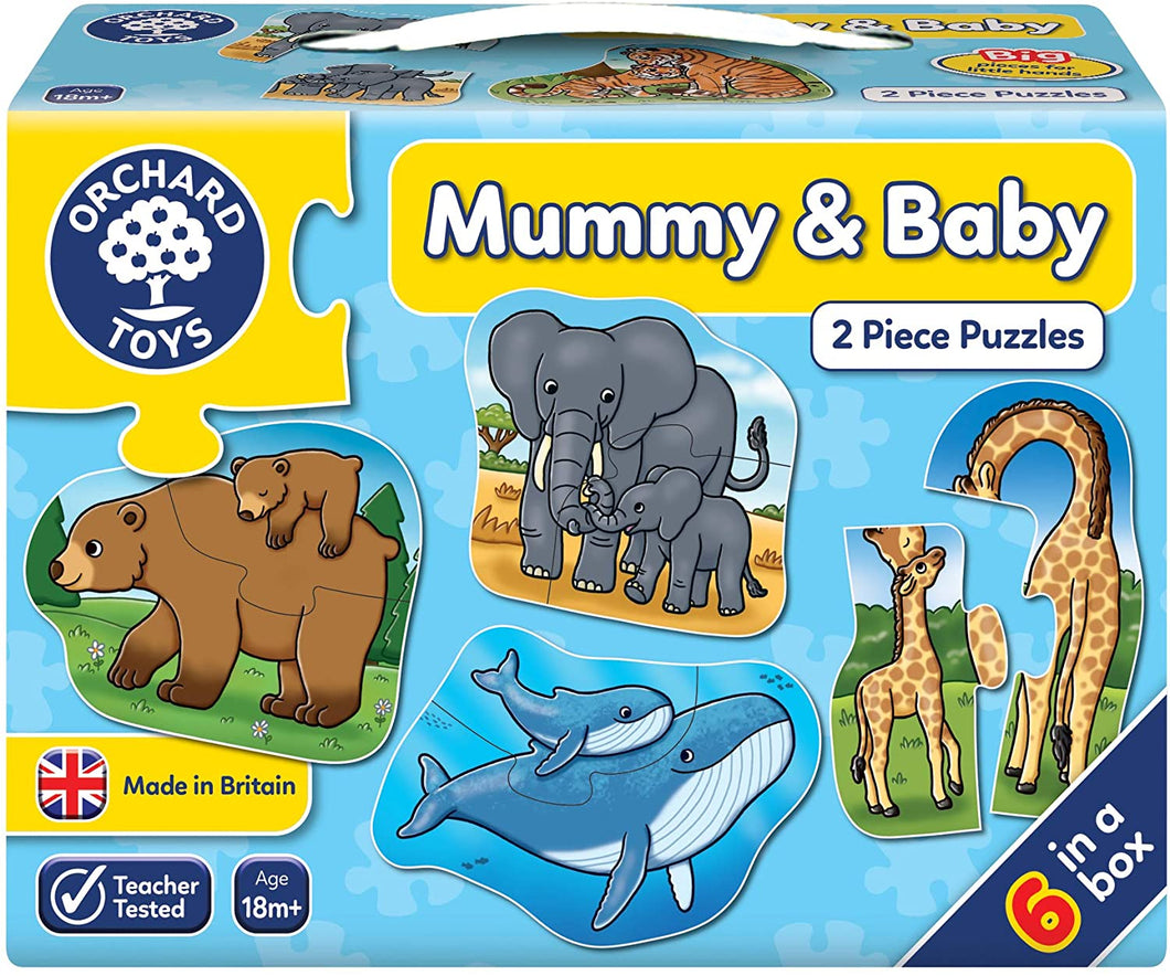Orchard Mummy & Baby Puzzle The Bubble Room Toy Store Dublin