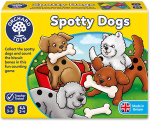 Orchard Toys Spotty Dogs Game The Bubble Room Toy Store Dublin