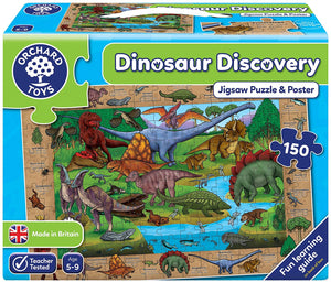 Orchard Toys Dinosaur Discovery Jigsaw Puzzle The Bubble Room  Toy Store Dublin