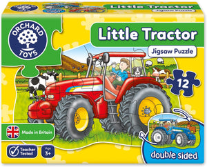 Orchard Toys Little Tractor Jigsaw Puzzle The Bubble Room Toy store Skerries Dublin