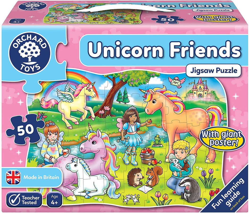 Orchard Toys Unicorn Friends Jigsaw Puzzle The Bubble Room Toy Store Dublin