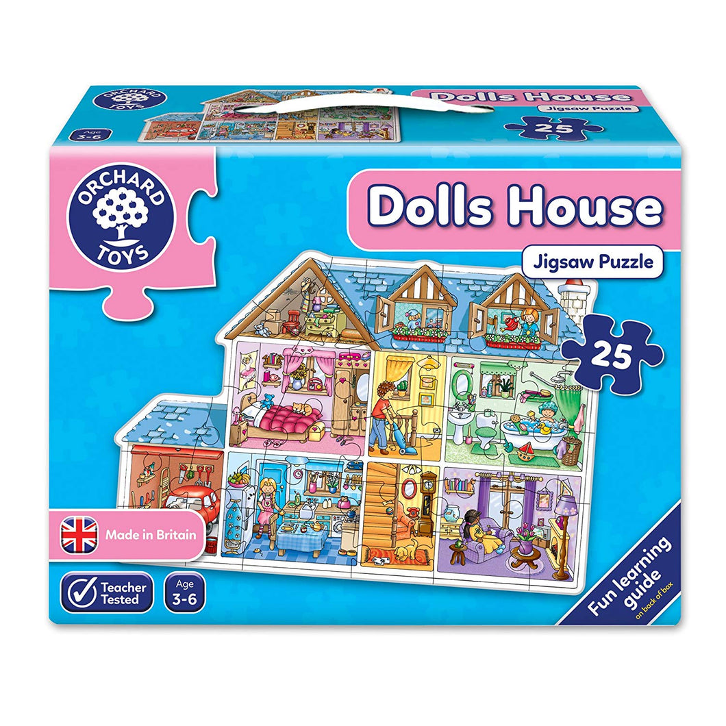 Orchard Toys Dolls House Jigsaw Puzzle The Bubble Room Toy Store Dublin
