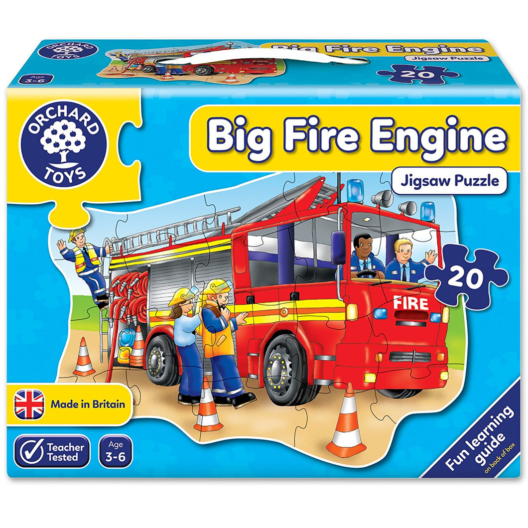 Orchard Toys Big Fire Engine jigsaw puzzle The Bubble Room Toy Store Dublin
