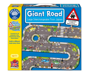 Orchard Toys Giant Road Puzzle The Bubble Room Toy Store Dublin