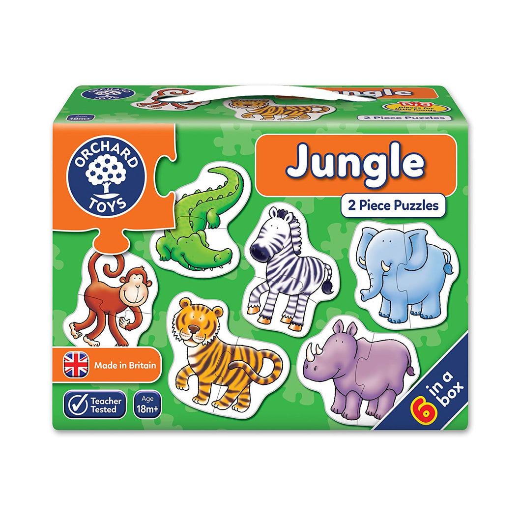 Orchard Toys Jungle Jigsaw Puzzle The Bubble Room Toy Store Dublin