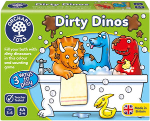 Orchard Toys Dirty Dino The Bubble Room Toy Shop Dublin