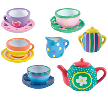 Load image into Gallery viewer, Galt Paint a Tea Set The Bubble Room Toy Store Skerries Dublin