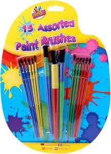 Artbox paint brushes 15 pack The Bubble Room Toy Shop Dublin