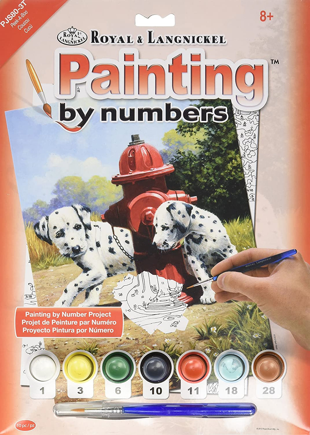 Royal & Langnickel Peek-A-Boo Design Paint by Numbers Kit The Bubble Room Skerries Dublin