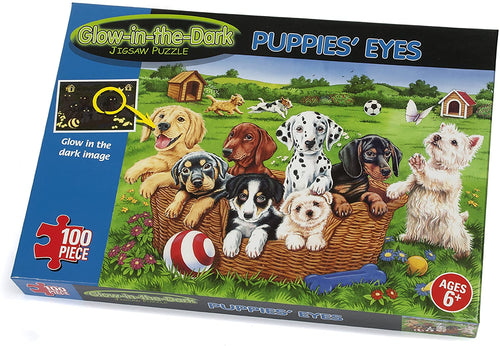 Paul Lamond Glow in the Dark Puppies Puzzle The Bubble Room Toy Store Skerries Dublin