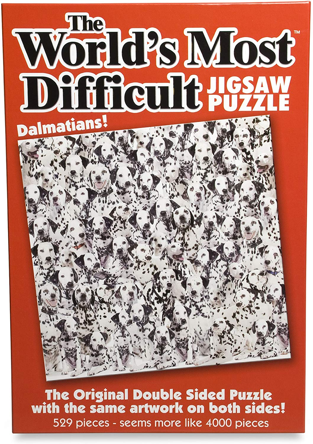 Paul Lamond Games Worlds Most Difficult Jigsaw Puzzle Dalmatians