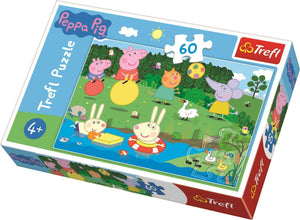 Trefl Peppa Pig 60 Piece Jigsaw Puzzle The Bubble Room Toy Store Dublin