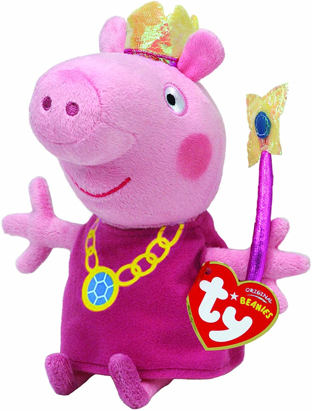 Peppa Pig Princess Peppa Beanie Baby The Bubble Room Toy Store Dublin