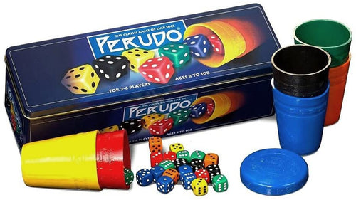 Paul lamond Games Perudo in a Tin Game The Bubble Room Toy store Skerries