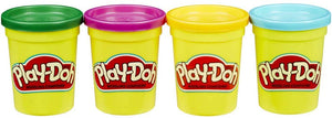 PlayDoh 4 Pack of Colours Assortment