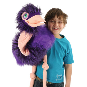 The Puppet Company Ostrich Giant Birds The Bubble Room Toy Store Skerries Dublin