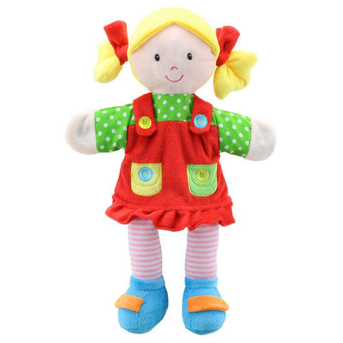 The Puppet Company Girl Story Telling Puppet The Bubble room toy Store Dublin
