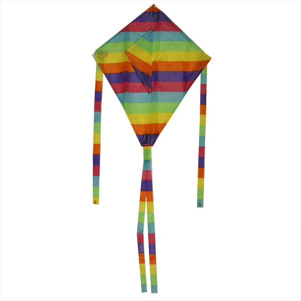 Kite Nylon Rainbow Single String The Bubble Room Toy Store Skerries Dublin