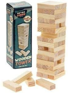 Retro games Mini Jenga Tower The Bubble Room Toy Store Dublin