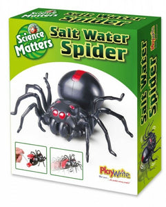 Young Science Salt Water Powered Spider  The Bubble Room Toy Store Dublin