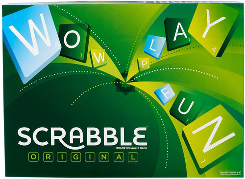 Mattel Games Scrabble Original  The Bubble Room Toy Store Dublin