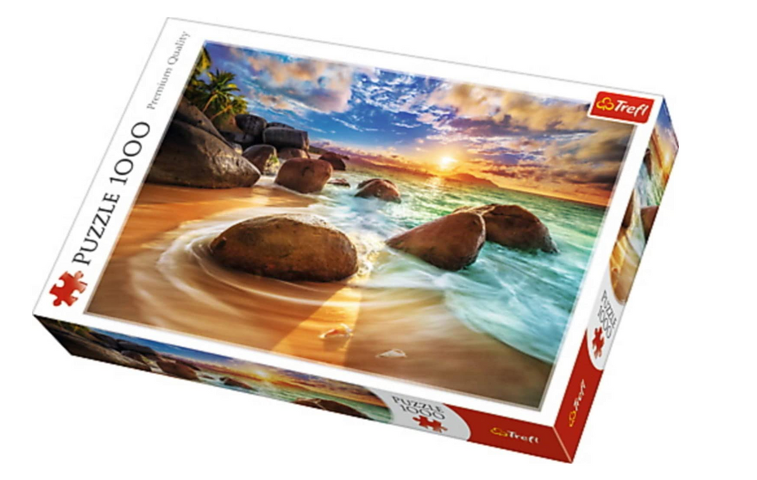 Trefl 1000 piece beach puzzle The Bubble Room Toy Store Dublin