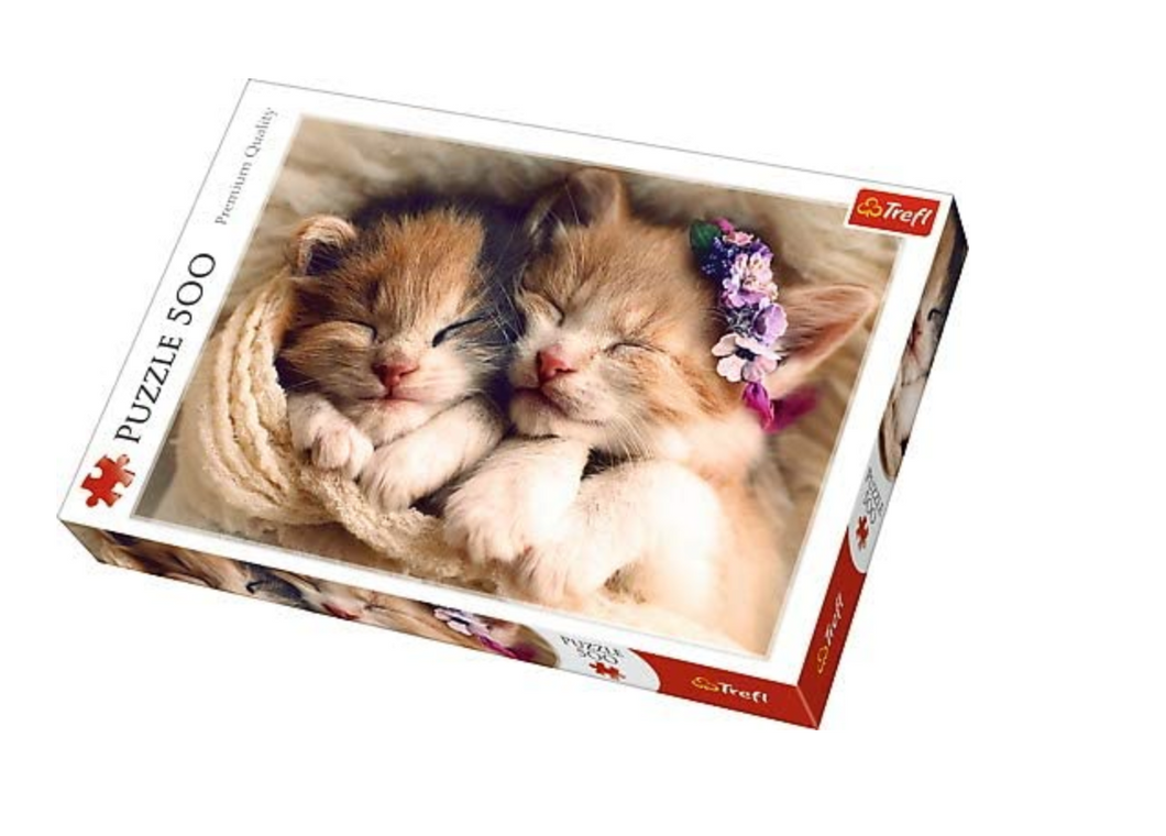Trefl jigsaw 500 piece kittens The Bubble Room Toy Store
