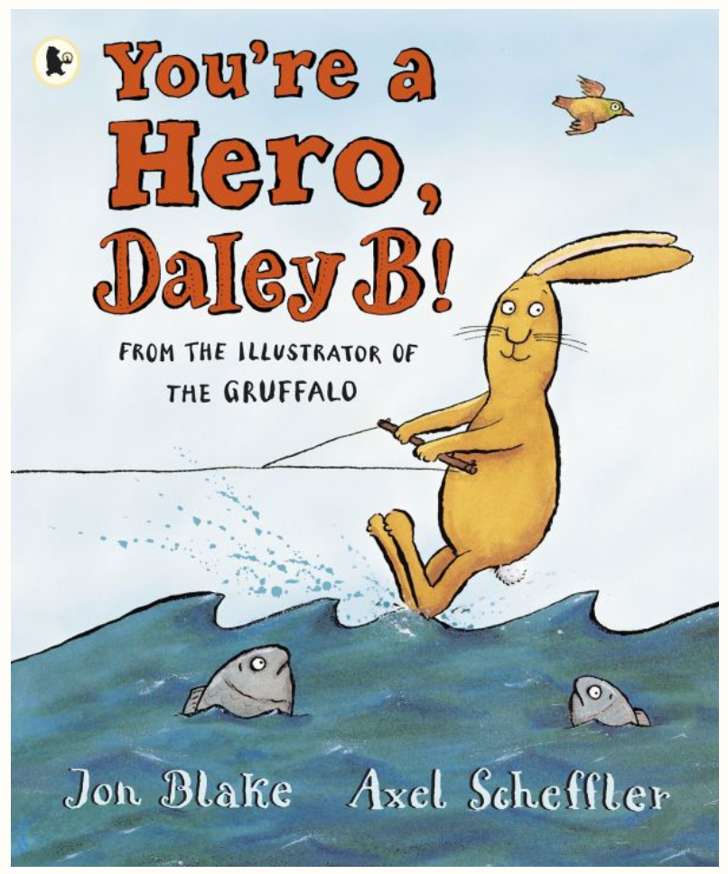 Your a hero Daley B The Bubble Room Book Store Skerries Dublin