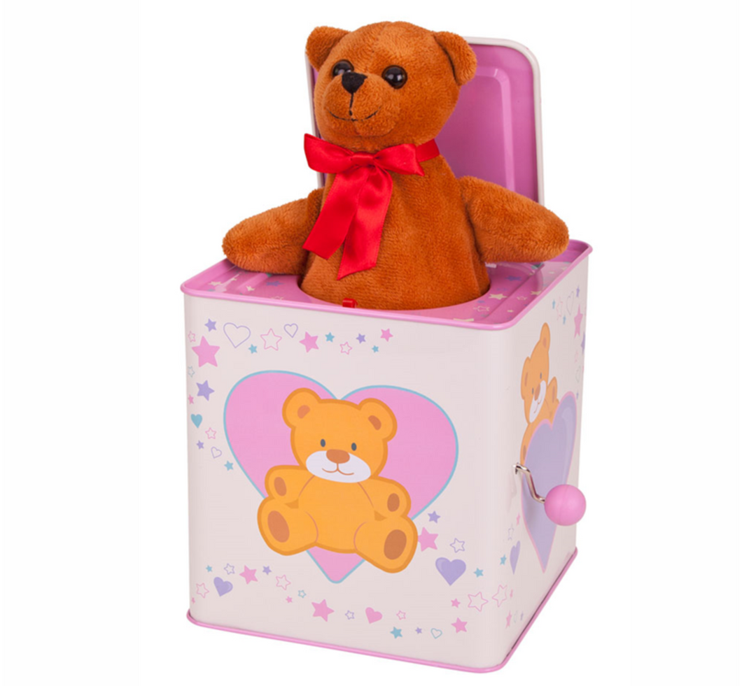 Bigjigs Teddy in a box The Bubble Room Toy Store Dublin