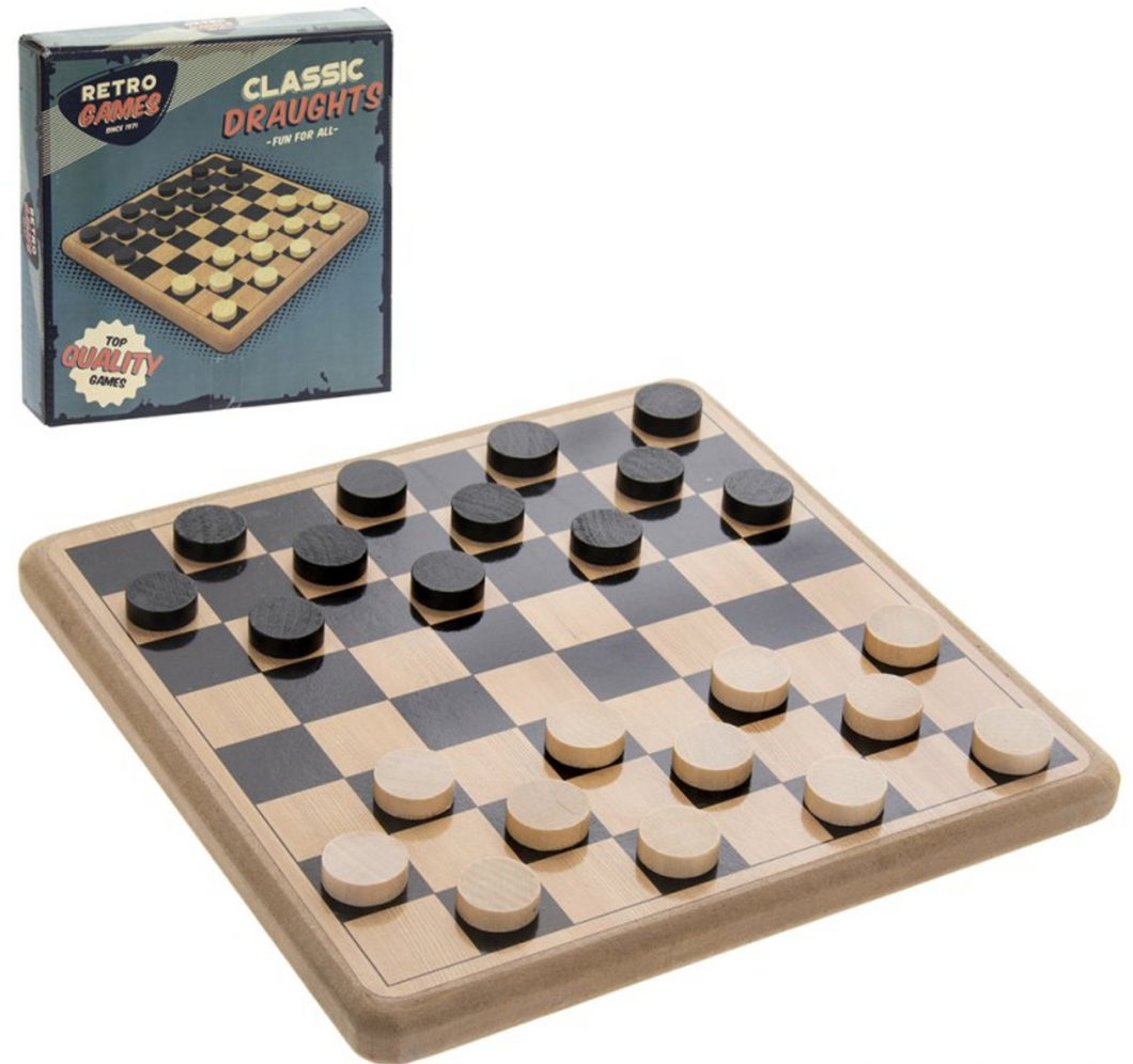 Lesser & Pavey Retro Classic Draughts The Bubble Room Toy Store Skerries Dublin