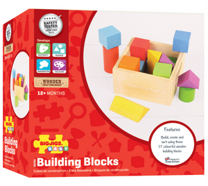 Bigjigs Toys First Building Blocks The Bubble Room Toy Store Skerries Dublin