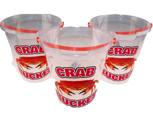 Palgrave  Transparent Crabbing / Crab Design Beach Buckets The Bubble Room Toy Store Dublin
