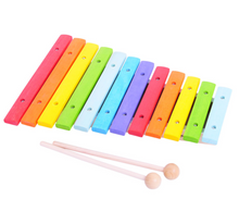 Load image into Gallery viewer, Bigjigs Snazzy Xylophone The Bubble Room Toy Store Dublin Ireland