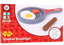Load image into Gallery viewer, Bigjigs Cooked Breakfast Set