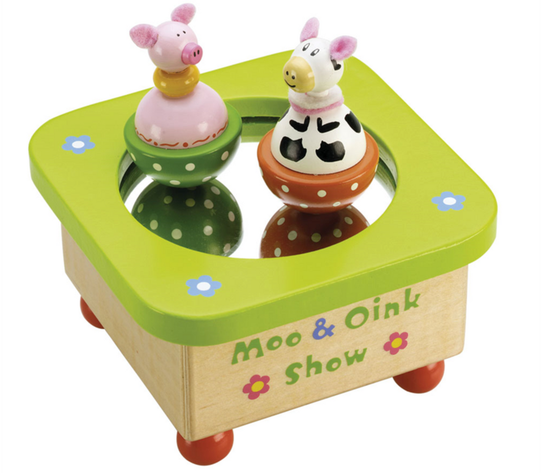 Tidlo Moo and Oink Music Box