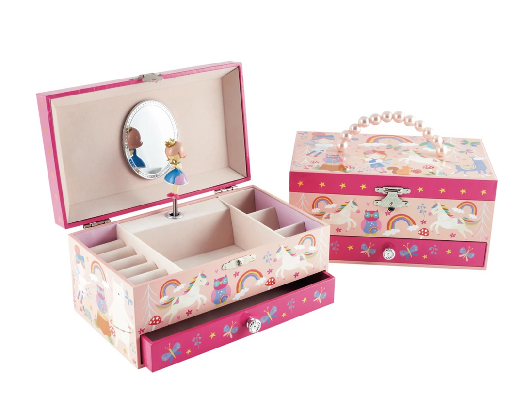 Floss & Rock Musical Jewellery Box Rainbow Woodland The Bubble Room Toy Store Skerries Dublin