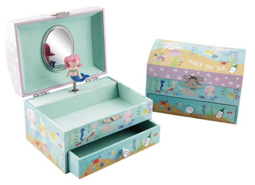 Floss & Rock Musical Jewellery Box Mermaid The Bubble Room Toy Store Dublin