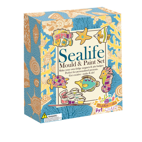 Mould & Paint Sealife set The Bubble Room Toy Store Skerries Dublin